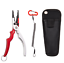 "6.7/"" Aluminium Fishing Pliers Hook Remover Line Cutting Mono Braid Fish Grip"