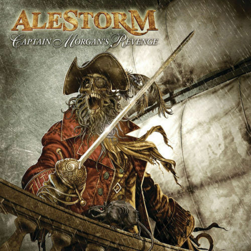Alestorm-Capitaine Morgan Revenge CD NEUF