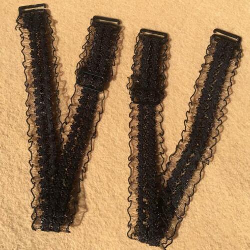 Underwear Bra Straps Flower Lace Adjustable Replacement Shoulder Strap Decor H