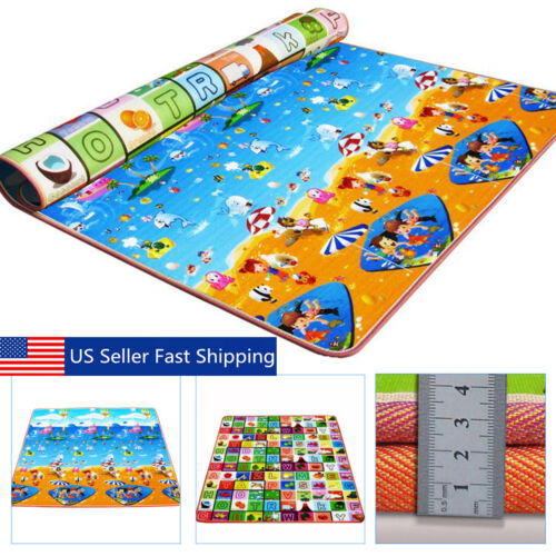 Baby Kids Play Mat Foam Floor Child Activity Soft Toy Gym Crawl Creeping