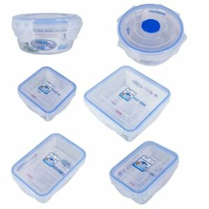 BPA Free Not Leak Food Container Microwave Freezer Safe Storage Box