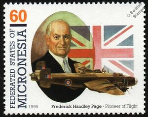 Frederick HANDLEY PAGE HALIFAX (RAF WWII Heavy Bomber) Aircraft Stamp