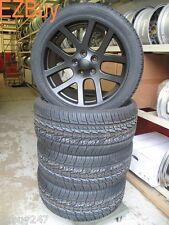 "22"" Dodge Ram 1500 SRT10 Style Satin Black Wheels and 305-40-22 Nexen Tires 2223"