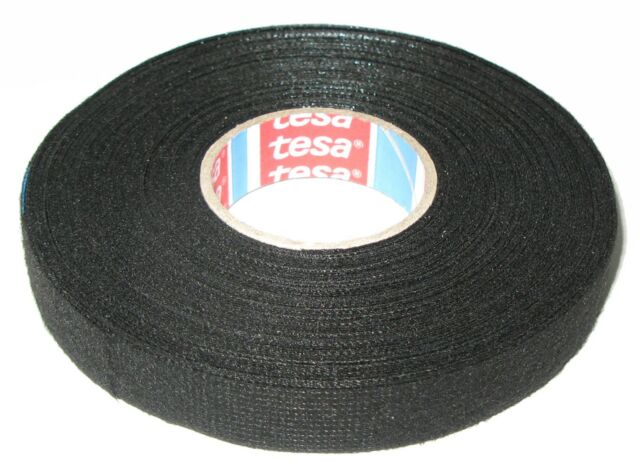 Tesa Motor Vehicle Fabric Tape with Fleece 51608 15mm x 25m Band Adhesive Mwst.