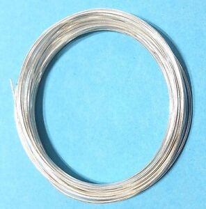 Silberdraht 925 Sterling Silber Ösendraht 0,5mm-3mm Echt Silber Voll ...