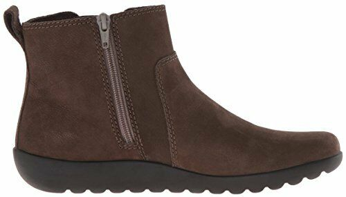 Clarks Women's Medora Grace Dark Taupe Nubuck Ankle Boots 26120507 26120507 26120507 a7dca6