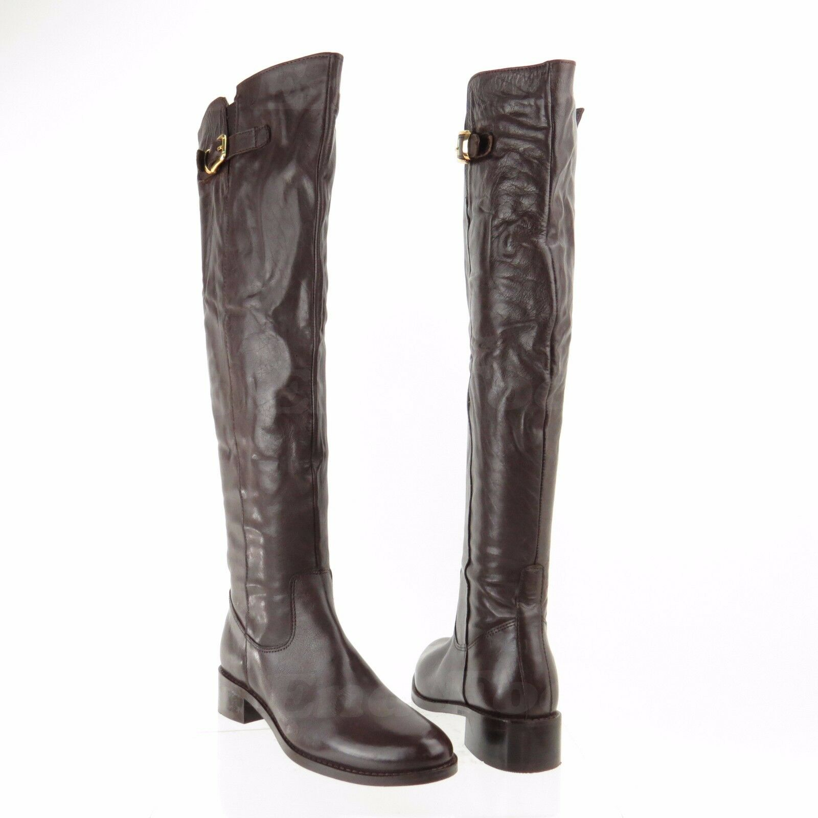 Catherine Malandrino Aria para mujeres Zapatos Marrón rodilla alta botas Nuevo