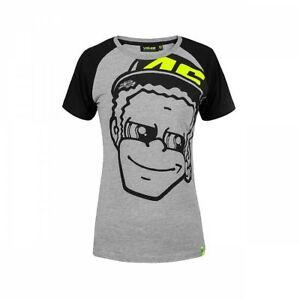 Vr46 Offiziell Valentino Rossi Damen Dottorino T Shirt Vrwts
