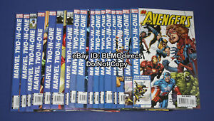 2007-Marvel-Two-In-One-1-2-3-4-5-6-7-8-to-17-Full-amp-Complete-Run-Avengers-1-17