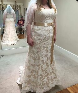 Maggie Sottero Wedding Dress Size 22 Karena Royale Ebay