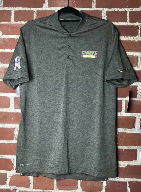 huge selection of 1cc56 a1743 Nike NFL Kansas City Chiefs Salute To Service Sideline Performance Polo  Size XL