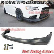 08-15 Mitsubishi EVO 10 Voltex Style Front Bumper Lip (Urethane)