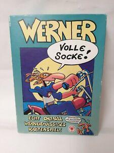 Werner-juego-de-cartas-plena-calcetin-muy-rara-de-salida-de-AAS-migaja-amp-Co