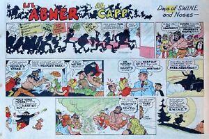 Li-039-l-Abner-by-Al-Capp-large-half-page-color-Sunday-comic-September-21-1969