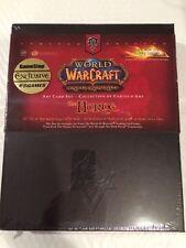 World of Warcraft The Horde Art Card Set Sealed - Factory Sealed - Never Opened