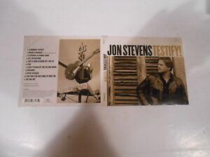 JON-STEVENS-TESTIFY-11-TRACK-DIGIPAK-CD-BOOKLET-2001-AUSTRALIA-VANESSA-AMOROSI