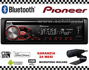 pioneer deh 4800bt car radio bluetooth cd and usb port output rca pre out ebay. Black Bedroom Furniture Sets. Home Design Ideas