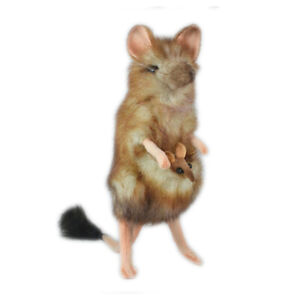 Marsupial-Mouse-Hansa-Realistic-Soft-Animal-Plush-Toy-19cm-FREE-DELIVERY