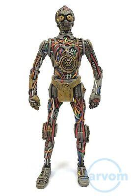 Star Wars 2012 TPM Mos Espa Arena Battle Back C-3PO Loose Complete