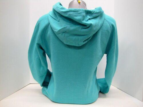 Case IH Women/'s Script Tail Aqua Pullover Hoodie