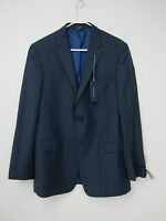 Tommy Hilfiger Worsted Wool Suit Jacket - 42 Long - Keene Blue -