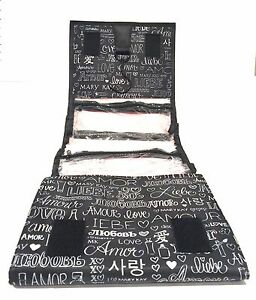 e436a23873e1 Details about MARY KAY TRAVEL ROLL UP BAG ORGANIZER~LOVE EDITION~HANGING~W/  4 REMOVABLE POUCH