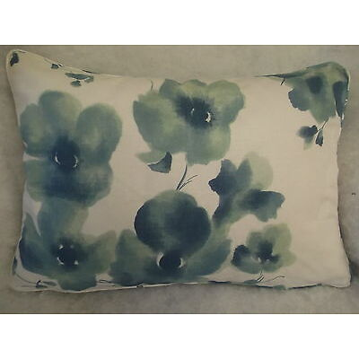 "MANDARIN FLOWERS BY ARTHUR SANDERSON OBLONG CUSHION 20"" X 14 ""(51 CM X 36 CM)"