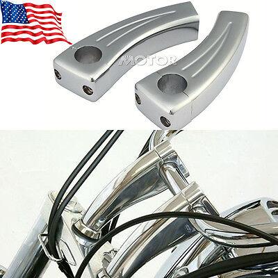 "1/"" Motorcycle Spike Handlebar Risers Handle Bar for Kawasaki Vulcan 900 Classic"