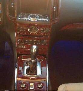 2007 07 2008 Interior Wood Dash Trim Kit Set For Infiniti G35 G 35 Coupe Sedan Ebay