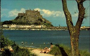 Gorey-England-Jersey-Kanalinseln-Channel-Islands-1979-Mont-Orgueil-Castle-Burg
