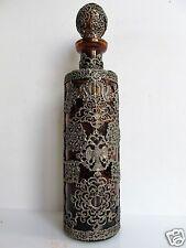 Aussergewöhnliche Glas Karaffe Metall montierung Russland, selten