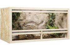Holz Terrarium 120 x 60 x 60 cm OSB Platte