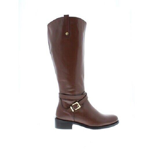 Carl Scarpa Kaelyn Tan Leather Boots 40633 UK 4   EU 37