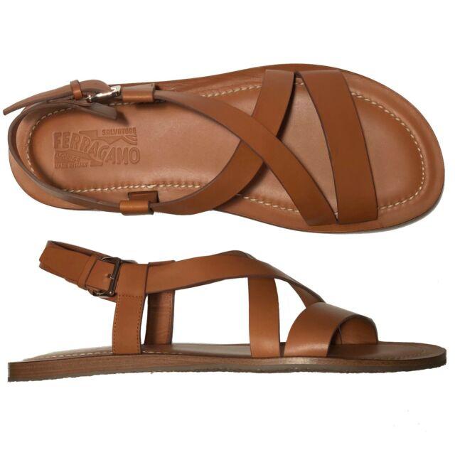 NOSTRO Crisscross Sandals Strap Buckle