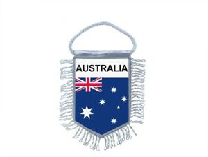 Mini-banner-flag-pennant-window-mirror-cars-country-banner-australia-australian