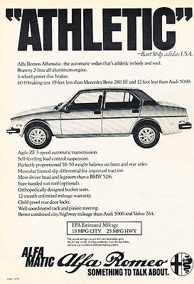 1991 Alfa Romeo 164-2-page green Classic Vintage Advertisement Ad H08