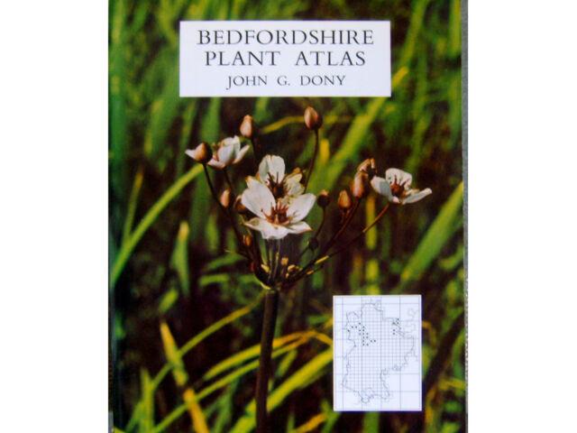 BEDFORDSHIRE PLANT ATLAS Distribution Maps etc by John Dony Large Paperback 1976