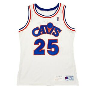 Details about Rare Cleveland Cavaliers #25 Mark Price Game Worn Champion Jersey. Size 42 2