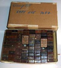 Jeu des 80 quartz FT243 testés 100% OK pour SCR510 (BC620)