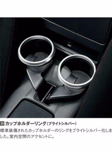 JDM OEM Mazda Roadster MX-5 MIATA ND Cup Holder Drink Ring Pair Genuine Japan