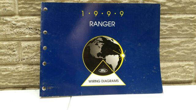 1999 Ford RANGER WIRING DIAGRAM Manual | eBay