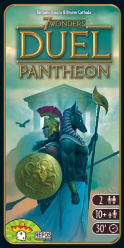 REPOS Production: 7 Wonders Duel - Pantheon expansion (New)