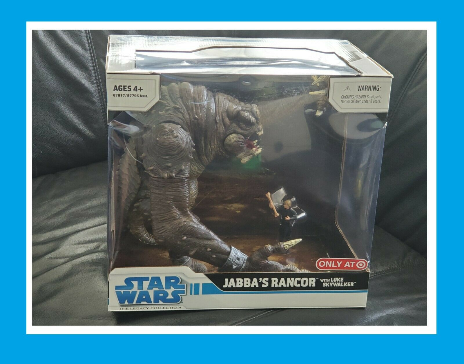 HASBRO estrella guerras THE LEGACY COLLECTION JABBA'S RANCOR WITH LUKE  cieloWALKER  divertiti con uno sconto del 30-50%
