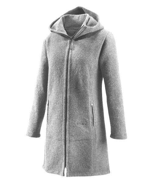 Abrigo de lana de Jana muflón para mujeres niebla abrigo mujer lana Merino