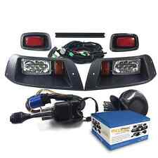 EZGO TXT GOLF CART DELUXE Street Legal ALL LED Light Kit 1996-2013