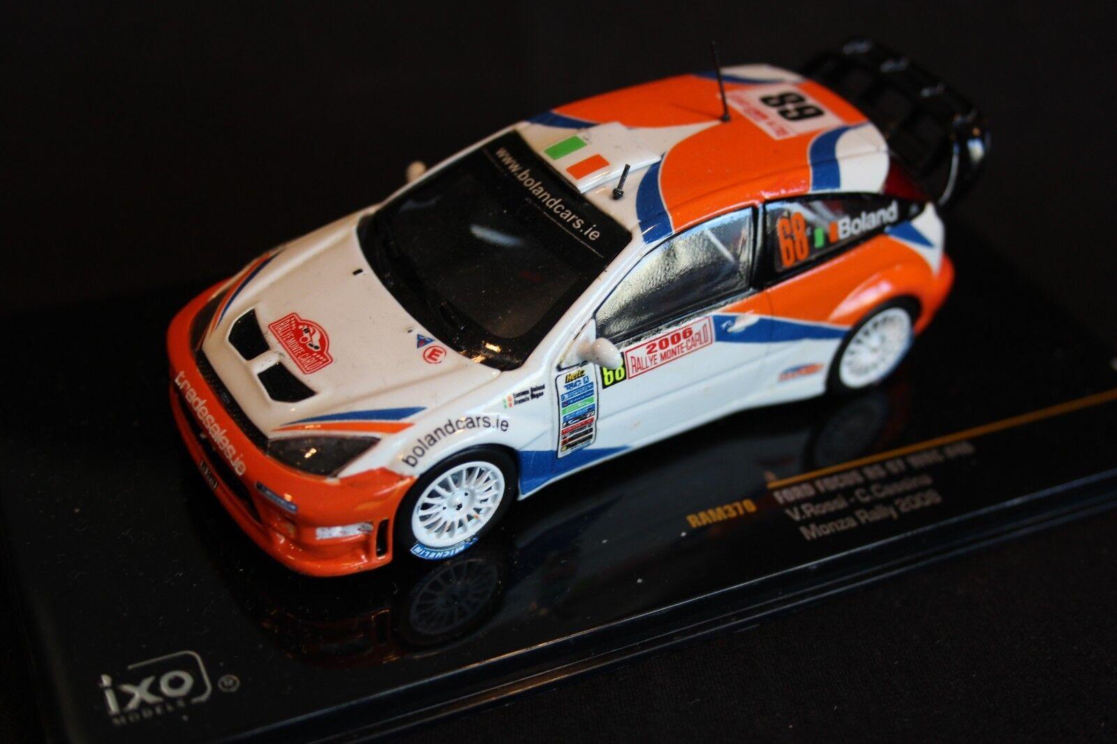 IXO Ford Focus WRC 2006 1 43  68 Boland   Regan Rallye Monte-Carlo