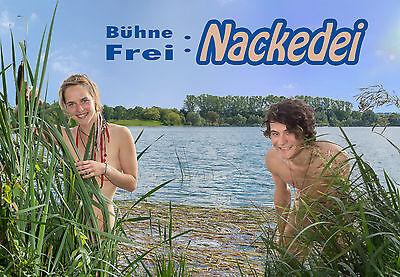 FKK Buch - Bühne Frei: Nackedei - FKK Fotobuch Bildband