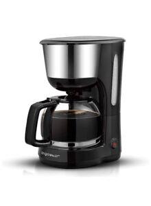 Aigostar Chocolate 30KYJ - Filter Coffee Machine, 1000W, Anti-Drip Design