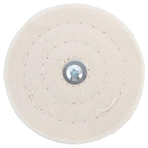 4 in environ 10.16 cm 100 mm Chiffon de Polissage Mop Roue Pad pour alimentation//batterie Perceuse Polissage T2R7