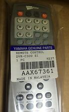 YAMAHA REMOTE CONTROL SILVER  DVR-C300 P/N AAX67361 BRAND NEW